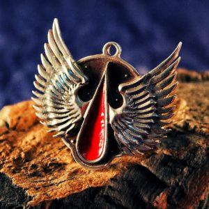 Merch Necklace Blood Angels Warhammer 40K Dawn Of War Pendant