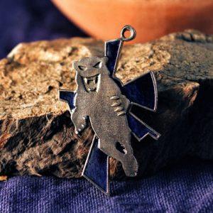 Collectibles Necklace Clan Smoke Jaguar Battletech Pendant