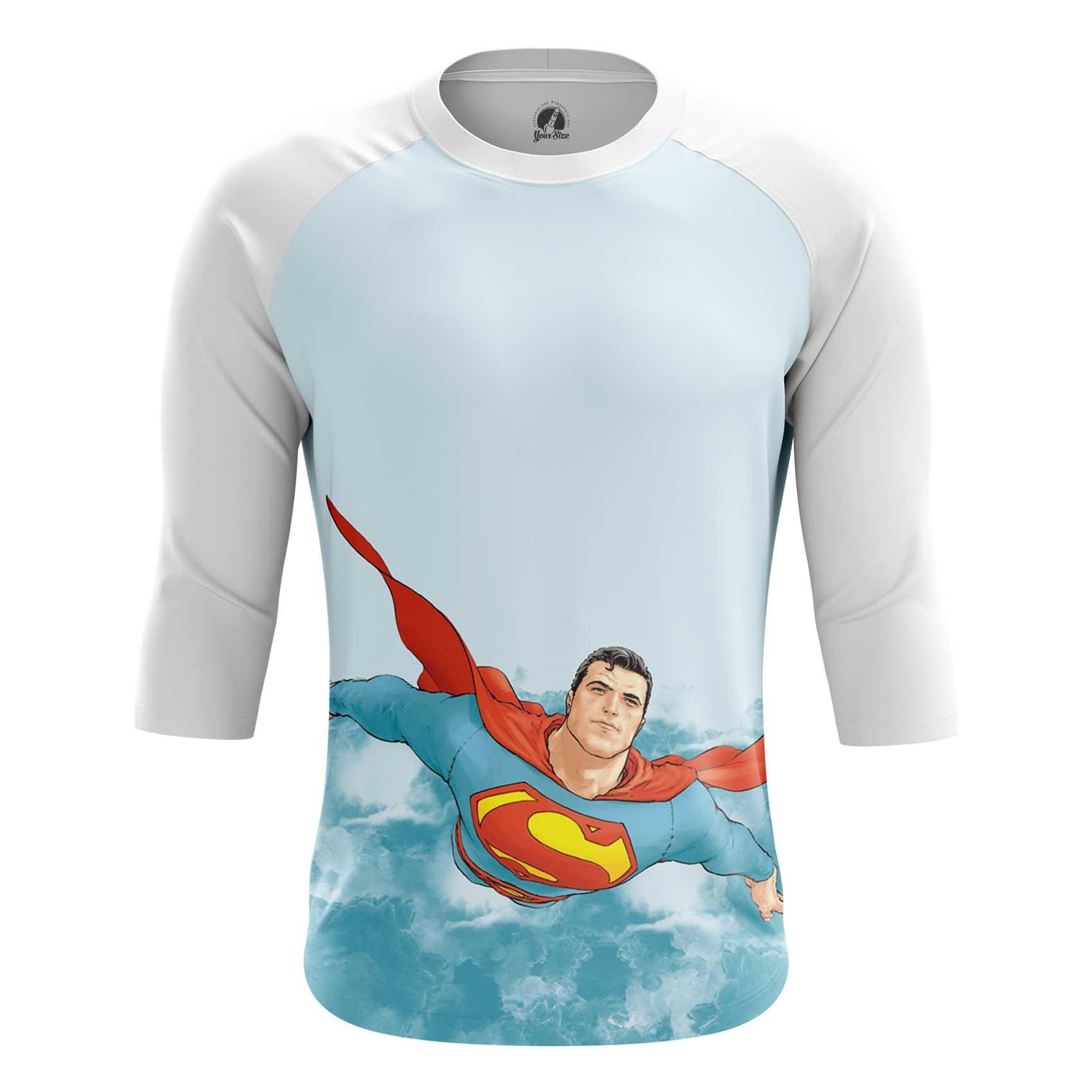 Merch Long Sleeve Superman Dc Universe Kal'El