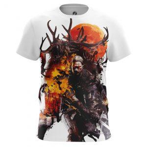 Merch Men'S T-Shirt Wild Hunt Witcher