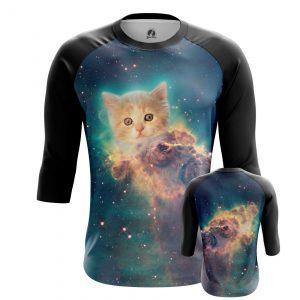 Merchandise Men'S Raglan Space Kitten Universe Cat
