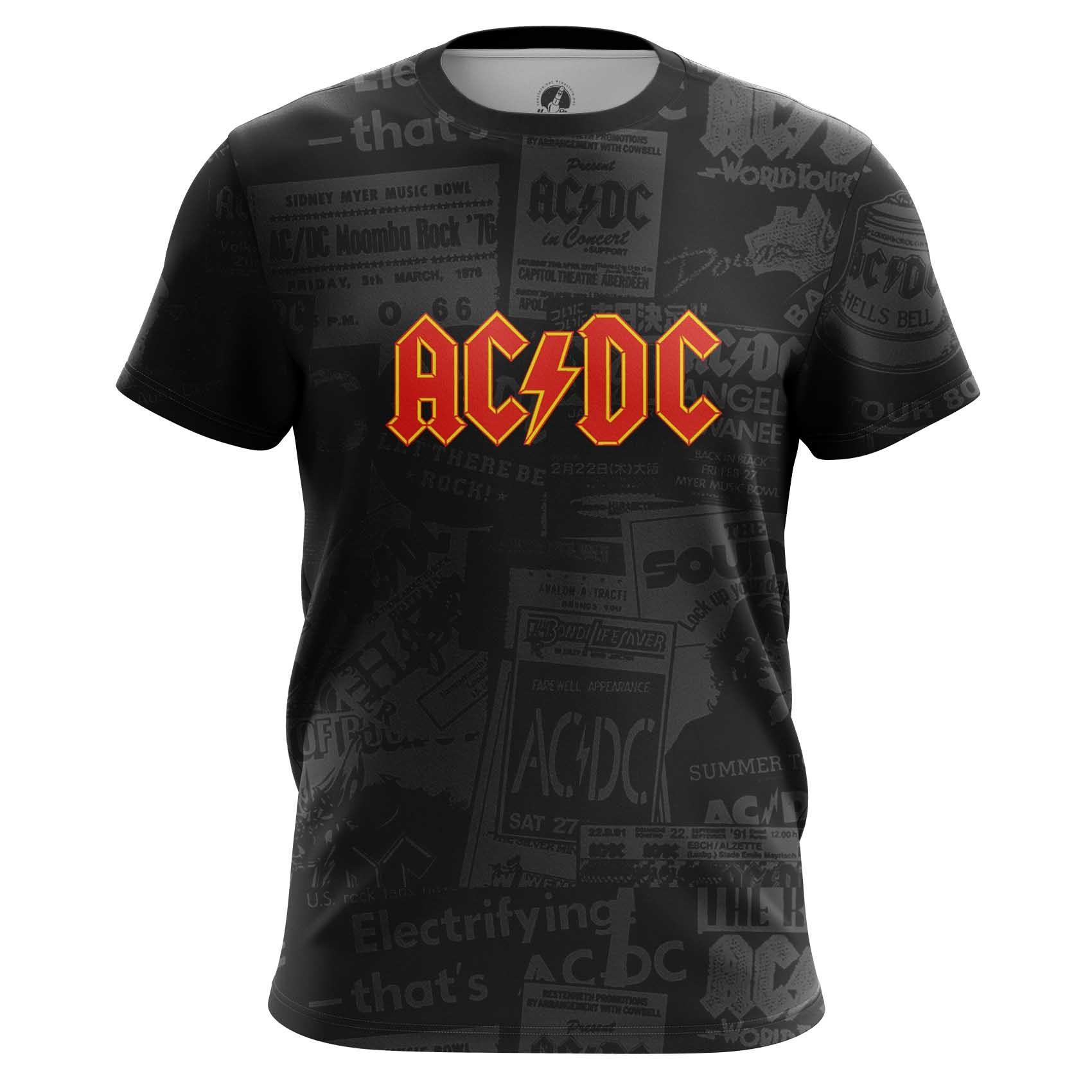 Collectibles Men'S T-Shirt Ac Dc Gear Fans