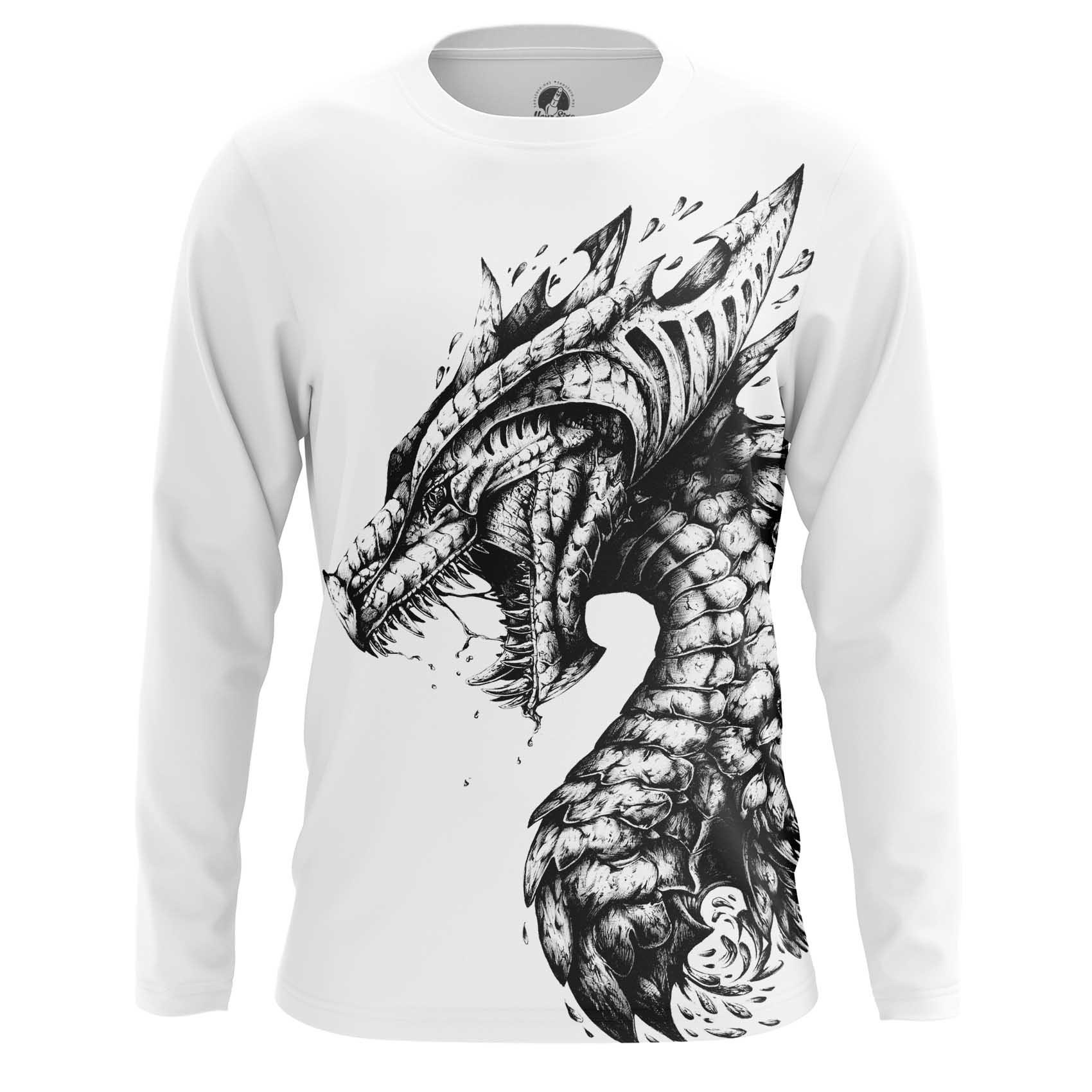 Merchandise Long Sleeve Dragon Monster Giant Reptile
