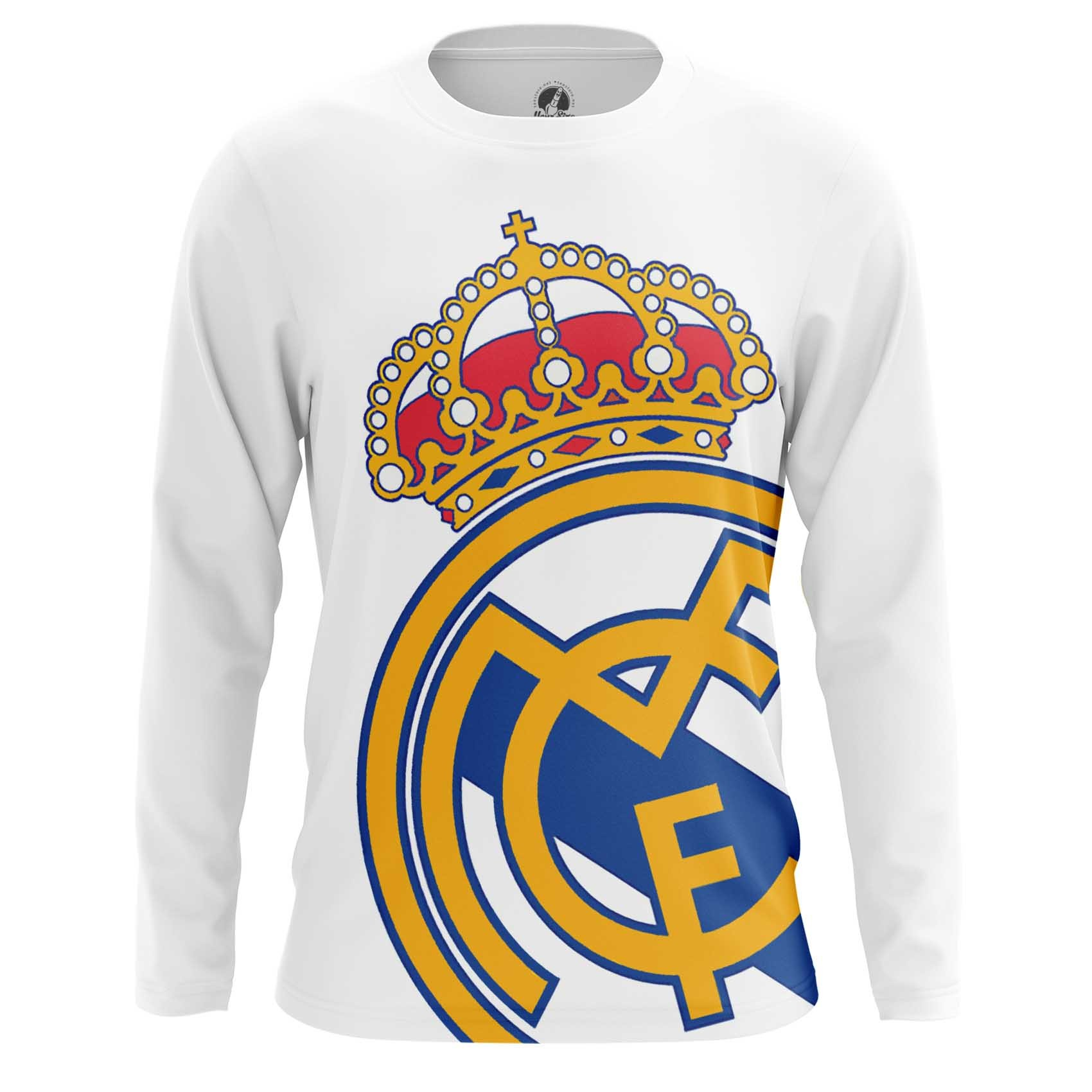 Collectibles Real Madrid Men'S T-Shirt Fc White