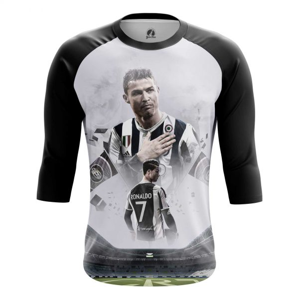 promo code 4c371 f9a95 Men's long sleeve Cristiano Ronaldo Juventus Fan Shirts
