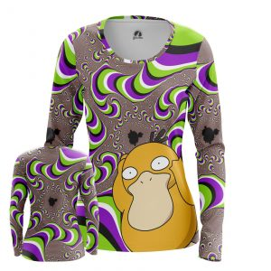 Collectibles Women'S Long Sleeve Psyduck