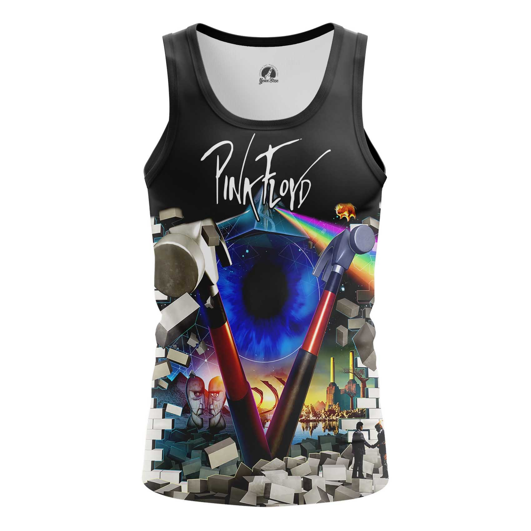 Collectibles Men'S T-Shirt Pink Floyd Music Band