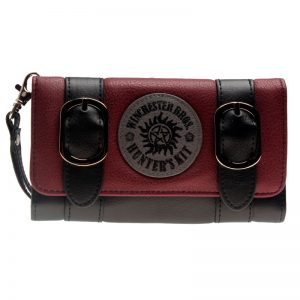 - Supernatural Women Long Purse Join The Hunt Black Wallet Dft 6505 12