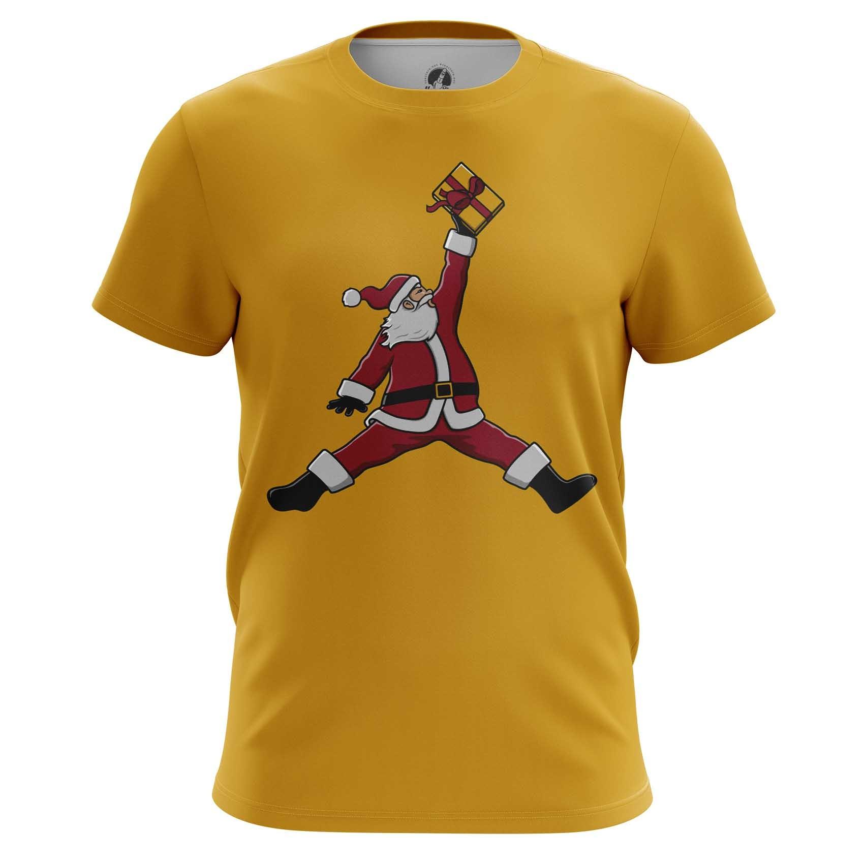 Merchandise T-Shirt Nba Jordan Santa Claus Christmas