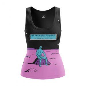 Collectibles Women'S Tank Dr Manhattan Watchmen Vest