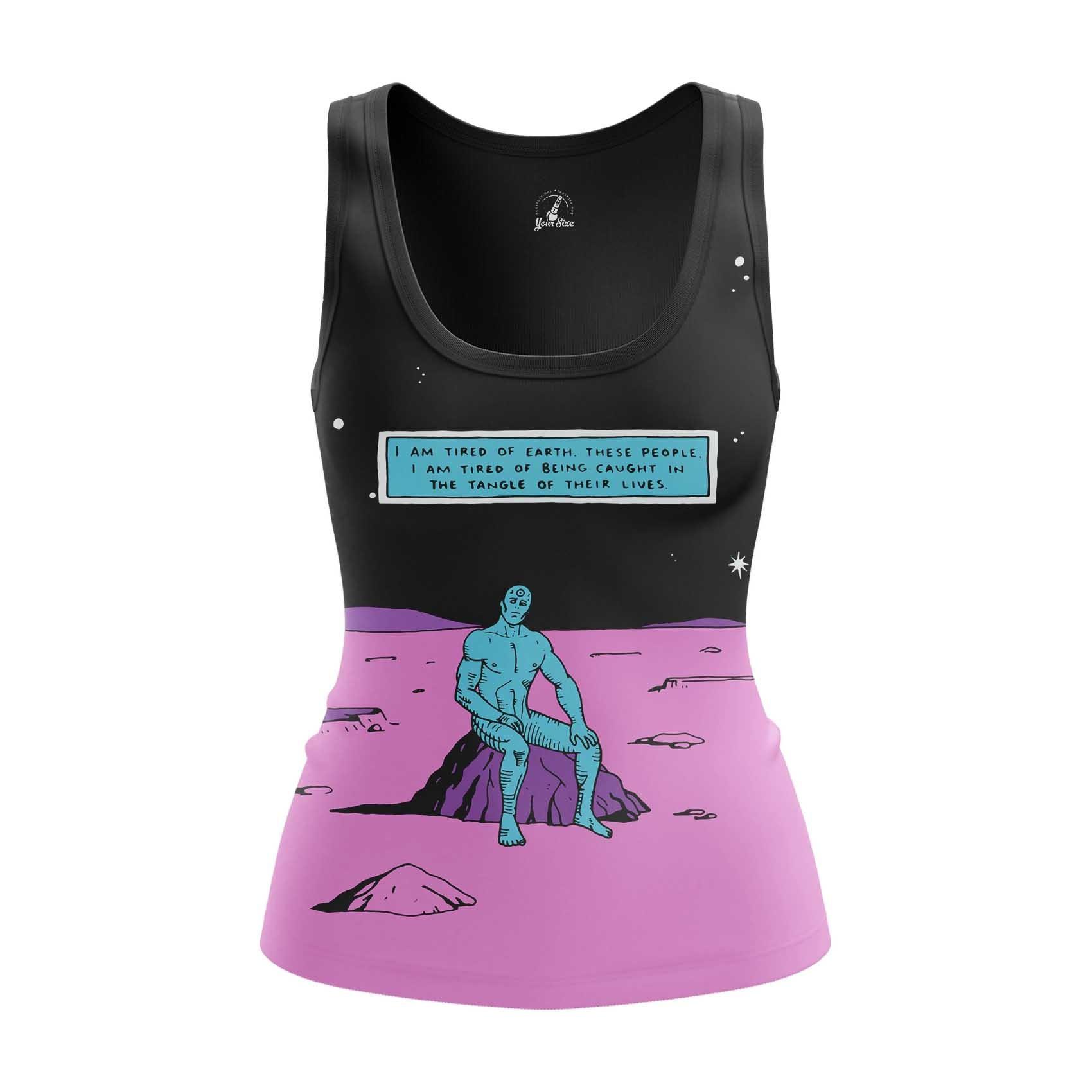 Merchandise Women'S Raglan Dr Manhattan Watchmen