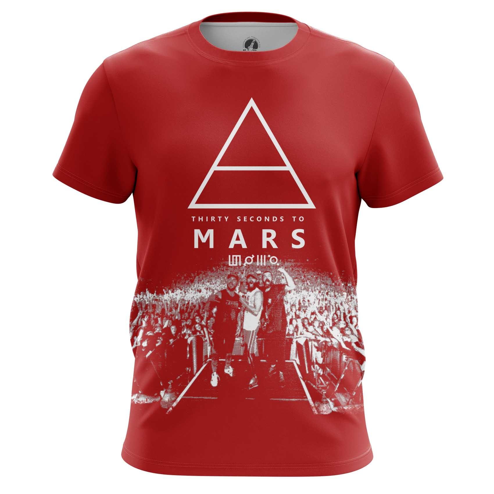 Merchandise Men'S T-Shirt 30 Seconds To Mars