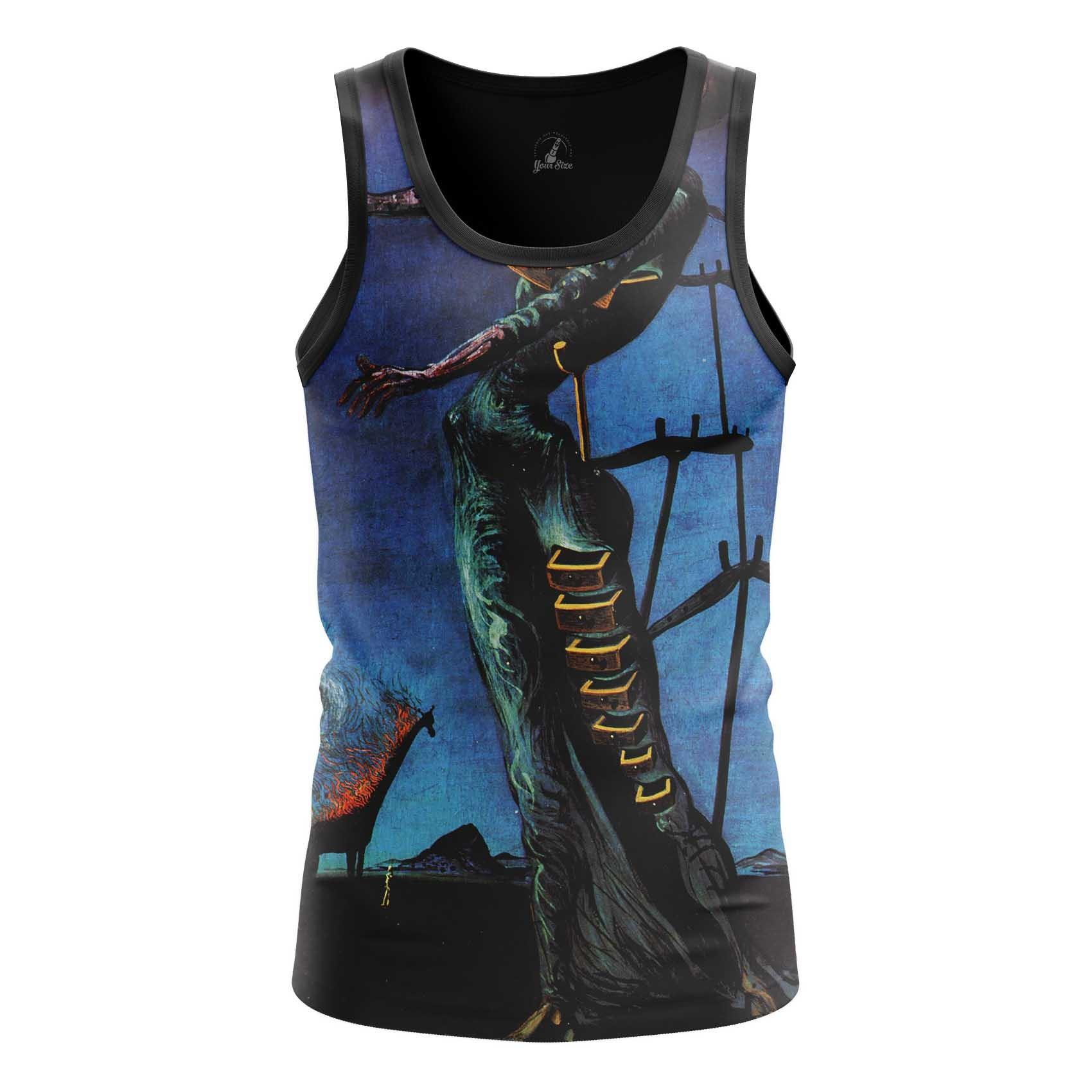 Merchandise T-Shirt Burning Giraffe Salvador Dali