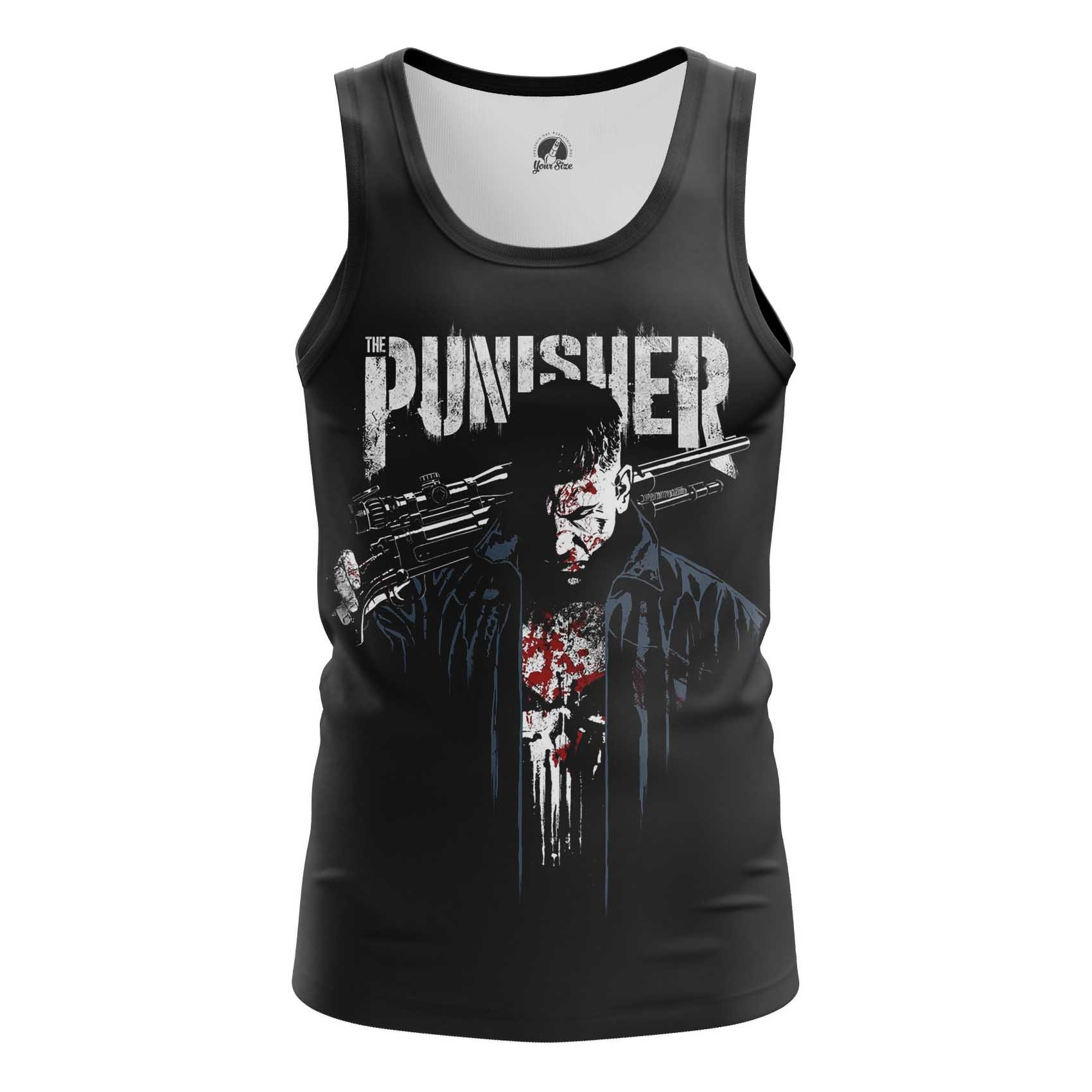 Merchandise Long Sleeve Punisher Netflix Version Inspired Clothing