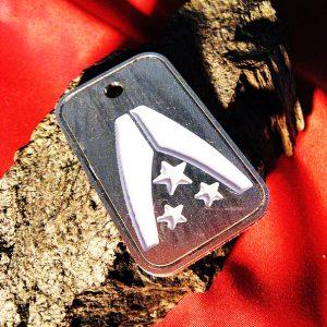 Merch Necklace Mass Effect Alliance Badge Token Pendant