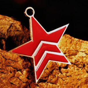 Merch Necklace Mass Effect Renegade Star Paragon Pendant