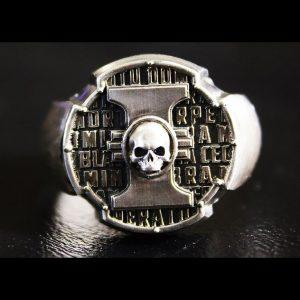 Merch Ring Inquisition Insignia Brass Dow 40K Handmade