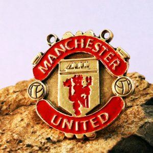 Merch Necklace Manchester United Badge Emblem Pin