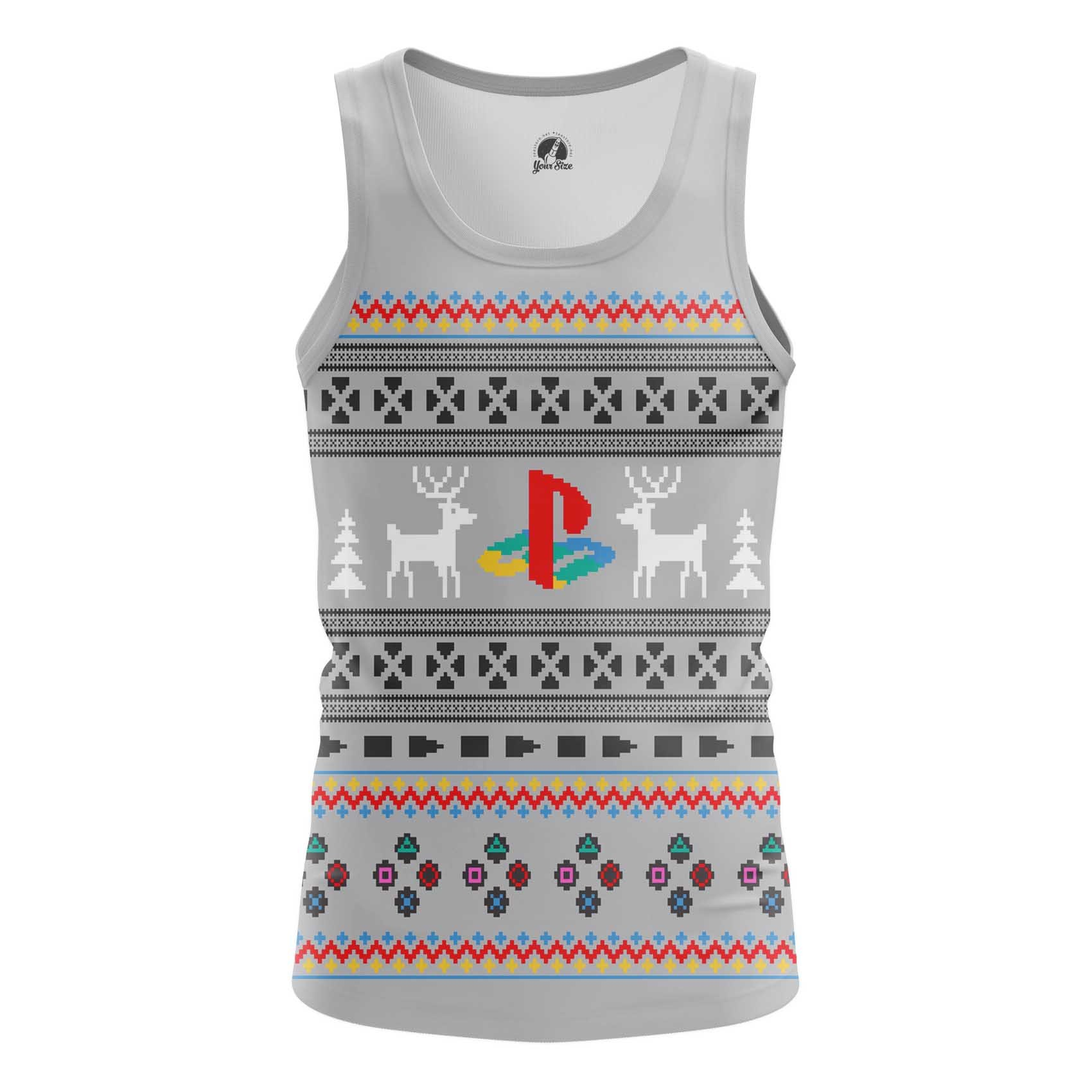 Merch Men'S T-Shirt Playstation X-Mas Christmas Special