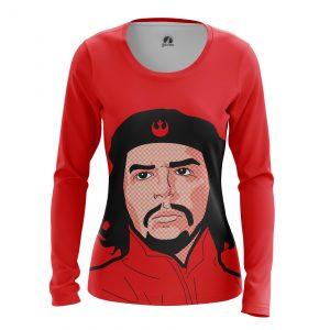 Collectibles Women'S Long Sleeve Che Guevara Revolution Cuba Pop Art