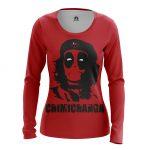 Merch - Women'S Long Sleeve Chimichanga Che Guevara Deadpool