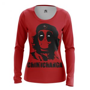 Collectibles Women'S Long Sleeve Chimichanga Che Guevara Deadpool