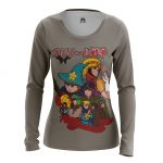 Merch - Women'S Long Sleeve Console Wars South Park Ps4 Game