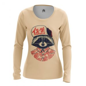 Collectibles Women'S Long Sleeve Coon Animals Raccoon
