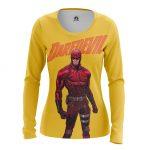 Merch - Women'S Long Sleeve Daredevil Yellow