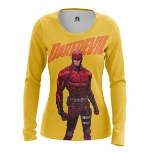 Collectibles Women'S Long Sleeve Daredevil Yellow