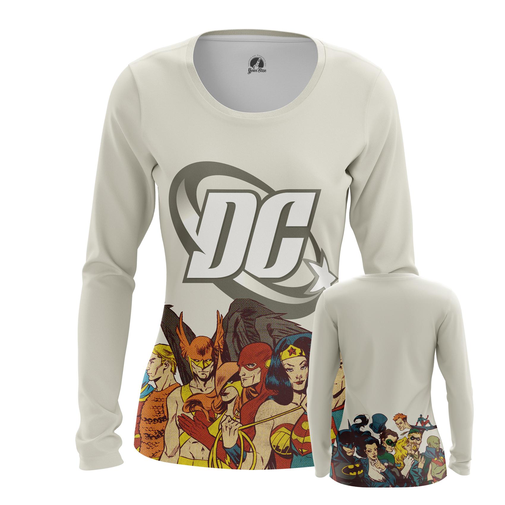 Collectibles Women'S Raglan Dc Comics Superheroes