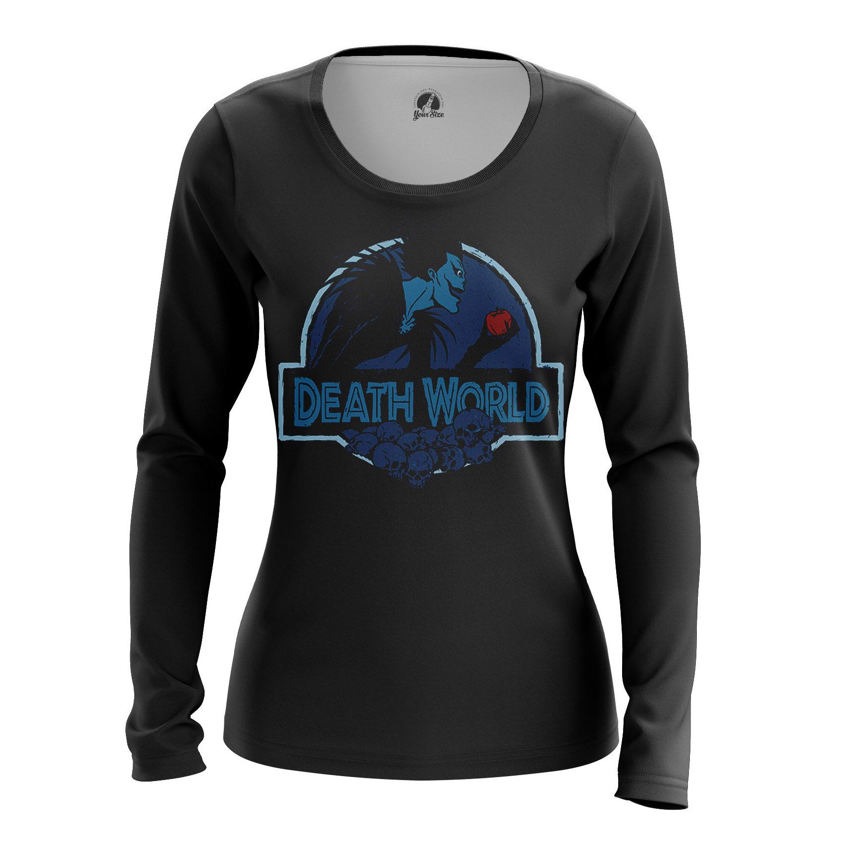 Merchandise Women'S Raglan Death World Death Note