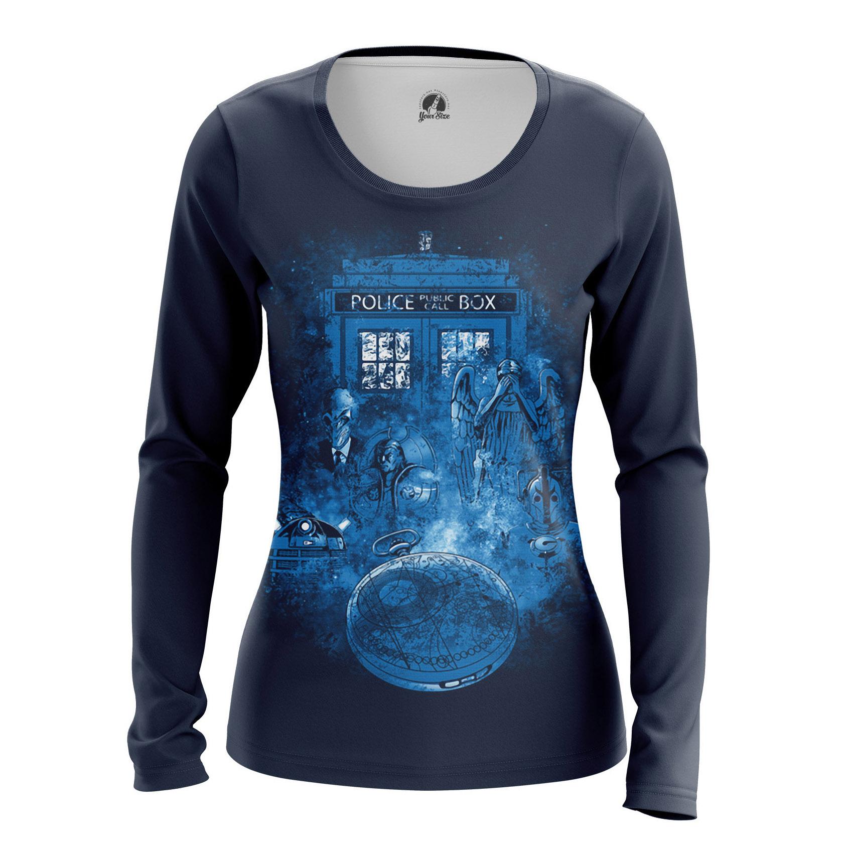 Merch Women'S Raglan Doctor Who Tardis