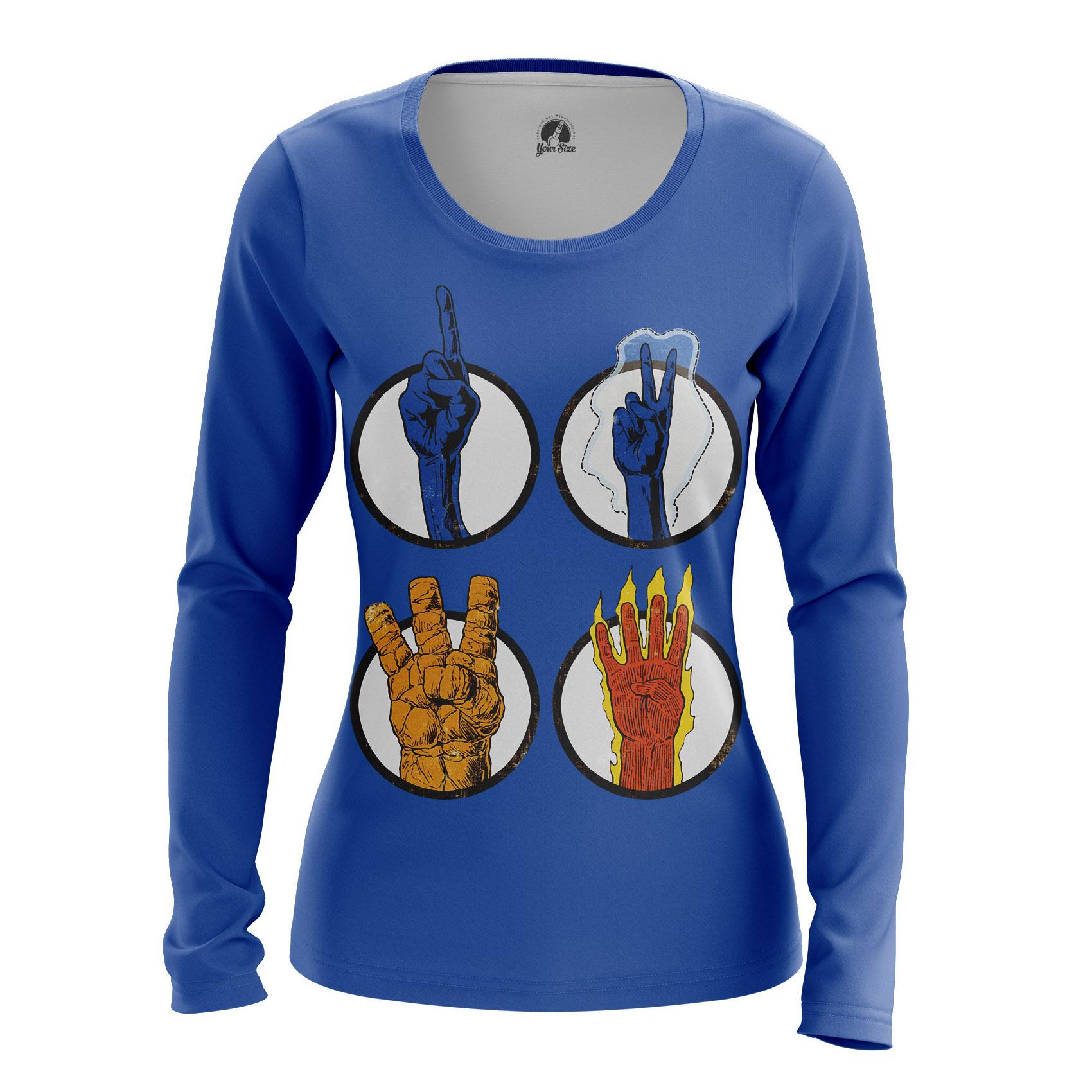 Merchandise Women'S Raglan Fantastic 4 Marvel