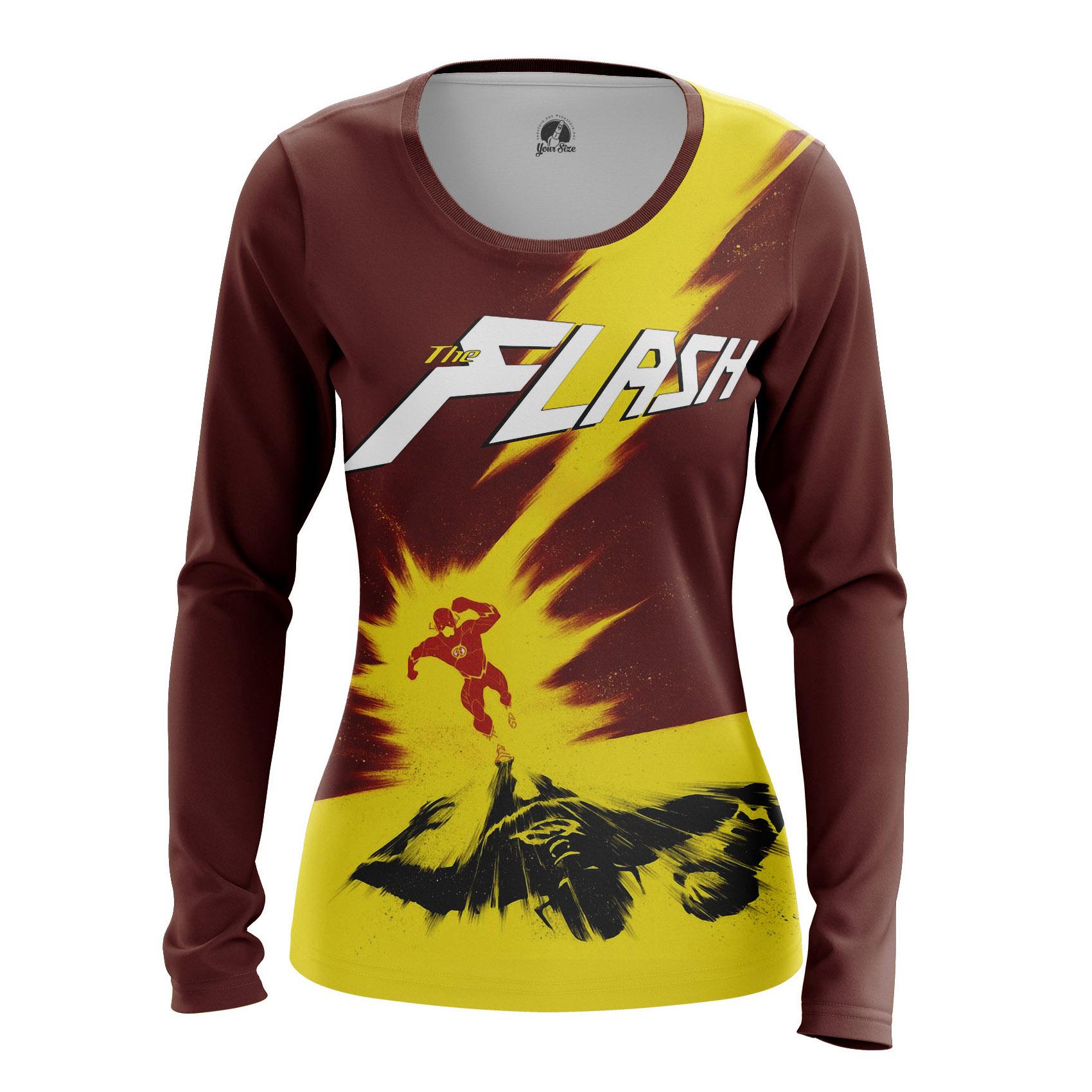 Merch Women'S Raglan The Flash Running