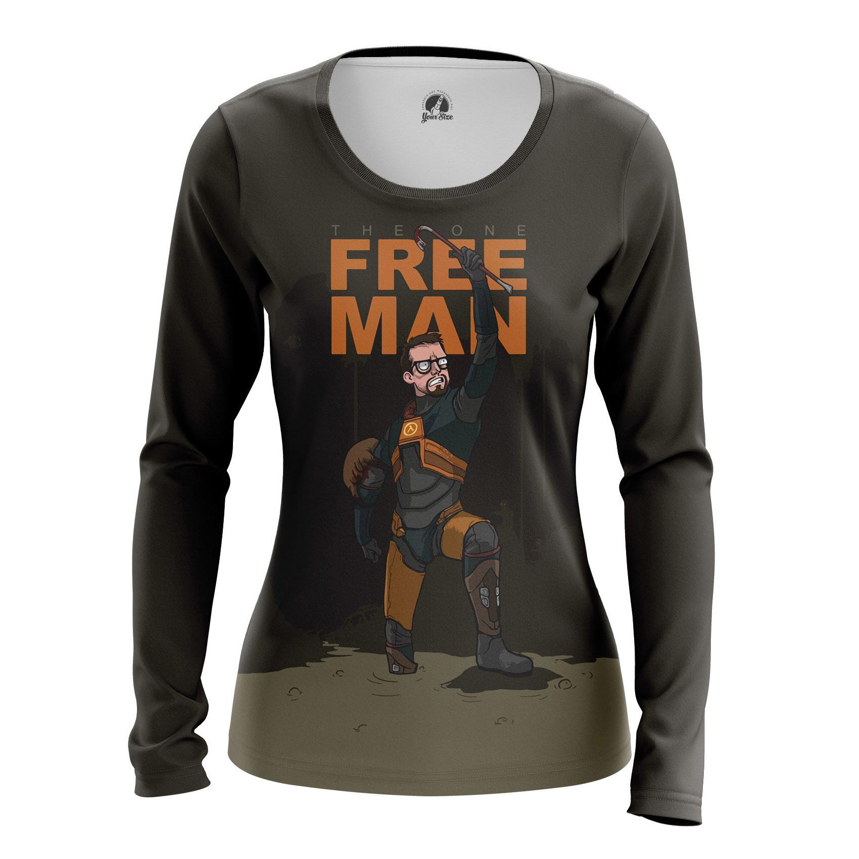 Collectibles Women'S Raglan Freeman Half Life