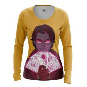 Collectibles Women'S Long Sleeve Gambit X-Men Mutant