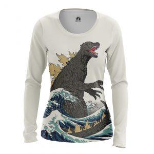 Merchandise Women'S Long Sleeve Godzilla Japan Movie