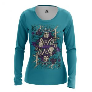 Merchandise Women'S Long Sleeve King Card Games Clothes
