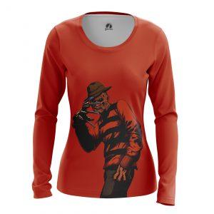 Merchandise Women'S Long Sleeve Krueger A Nightmare On Elm Street