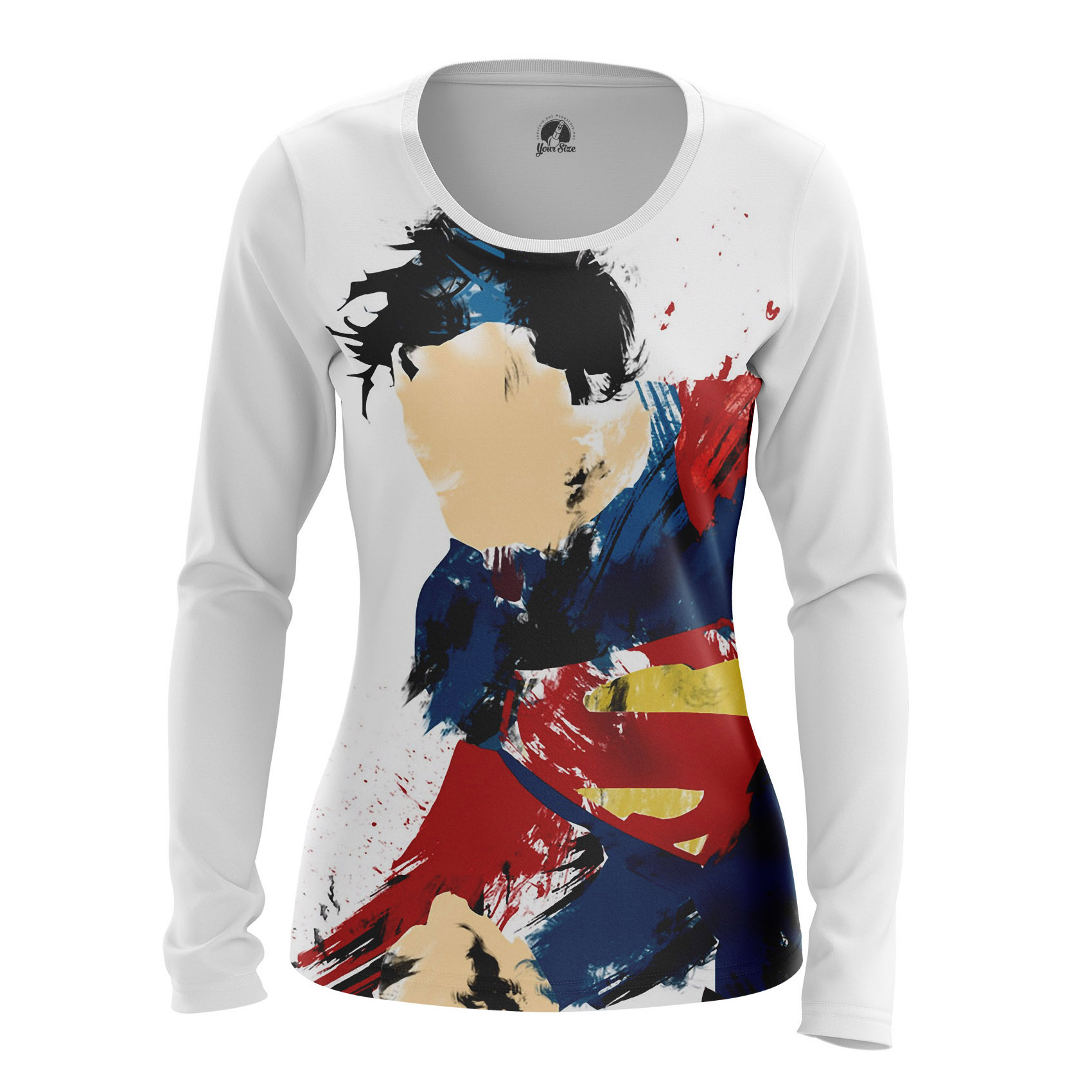 Merchandise Women'S Long Sleeve Man Of Steel Superman