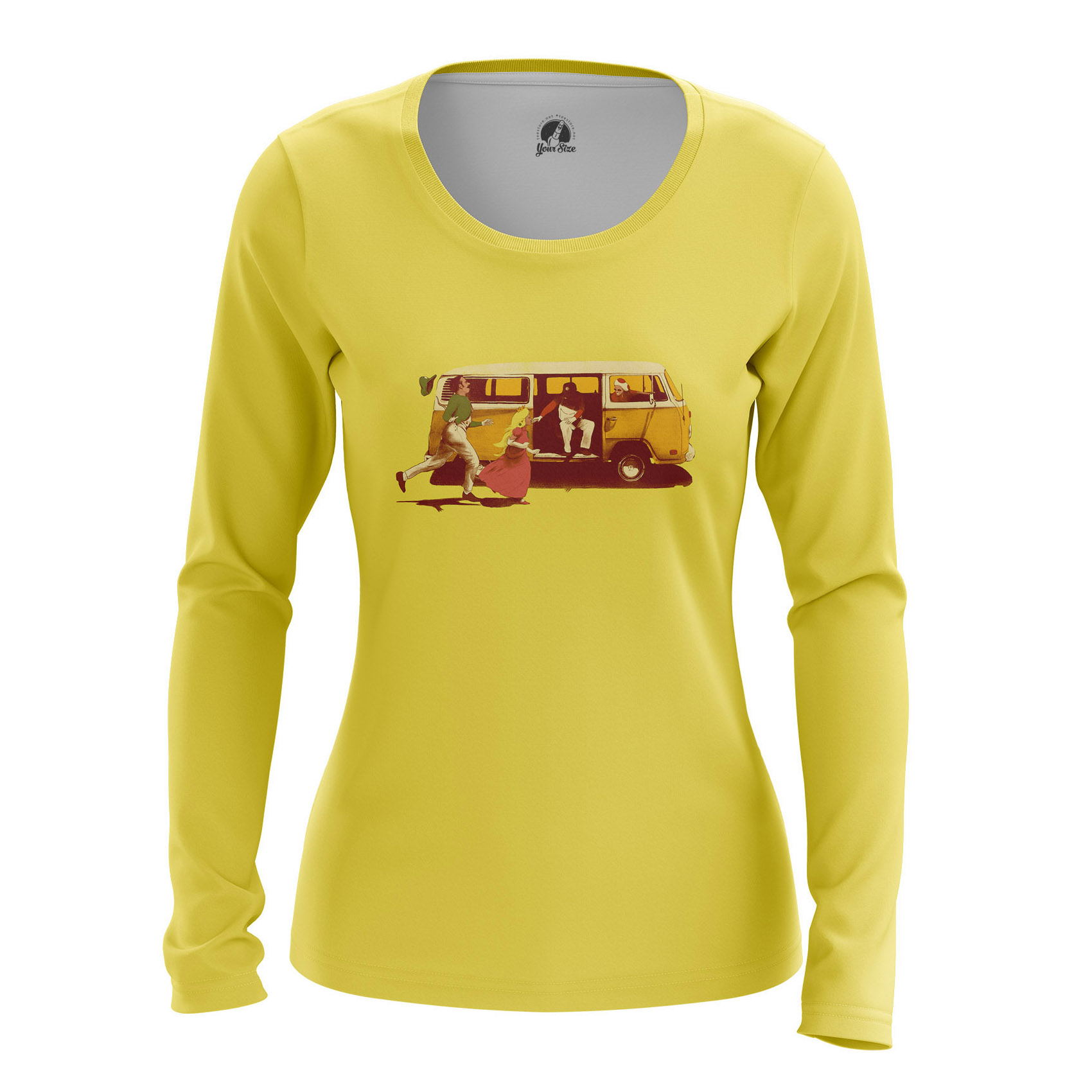 Merchandise Women'S Long Sleeve Mario Broth. Princess Nintendo Dendy