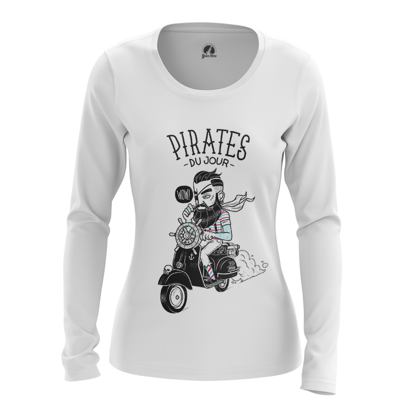 Collectibles - Women'S Long Sleeve Modern Pirates Hipster Clothes