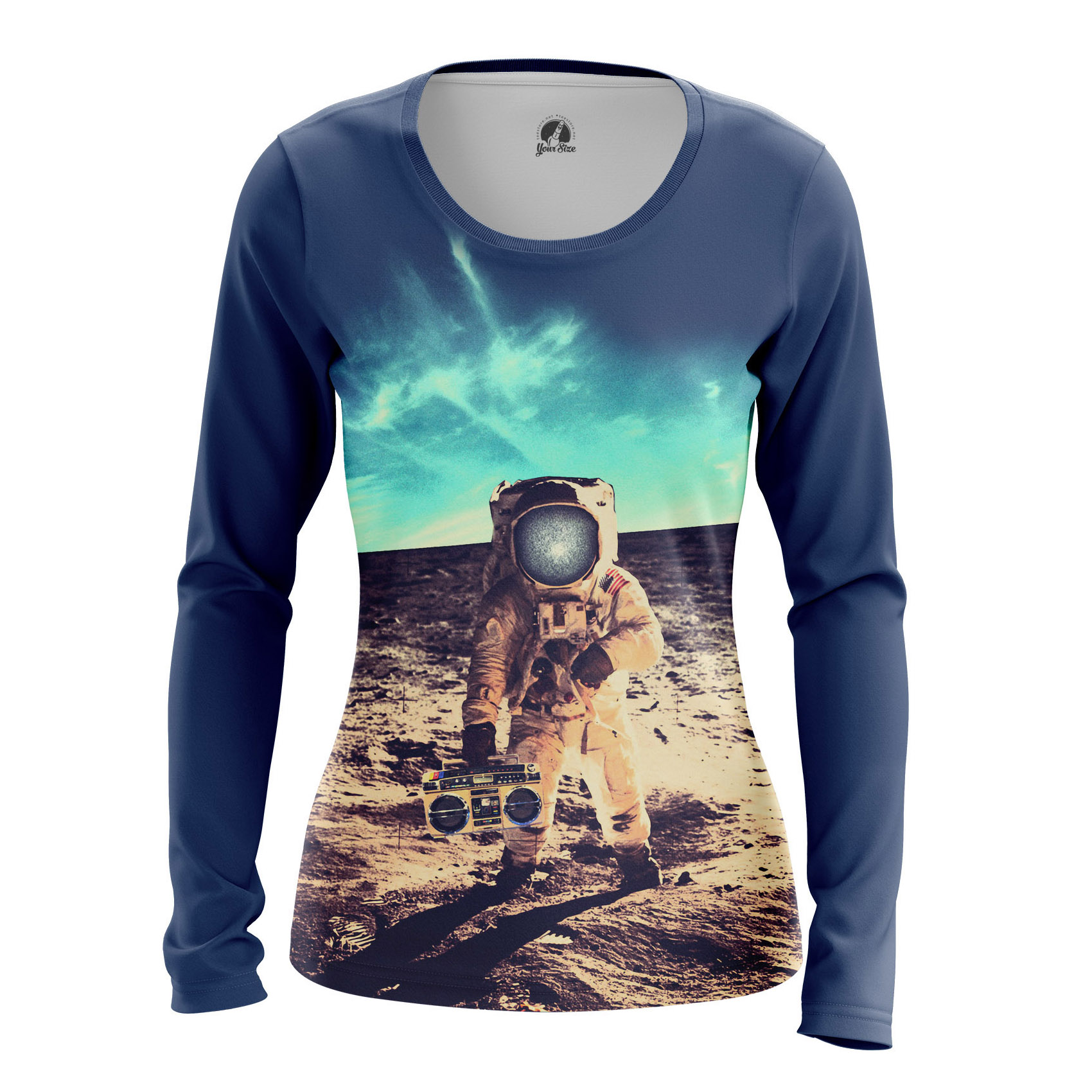 Collectibles Women'S Long Sleeve Moon Party Space