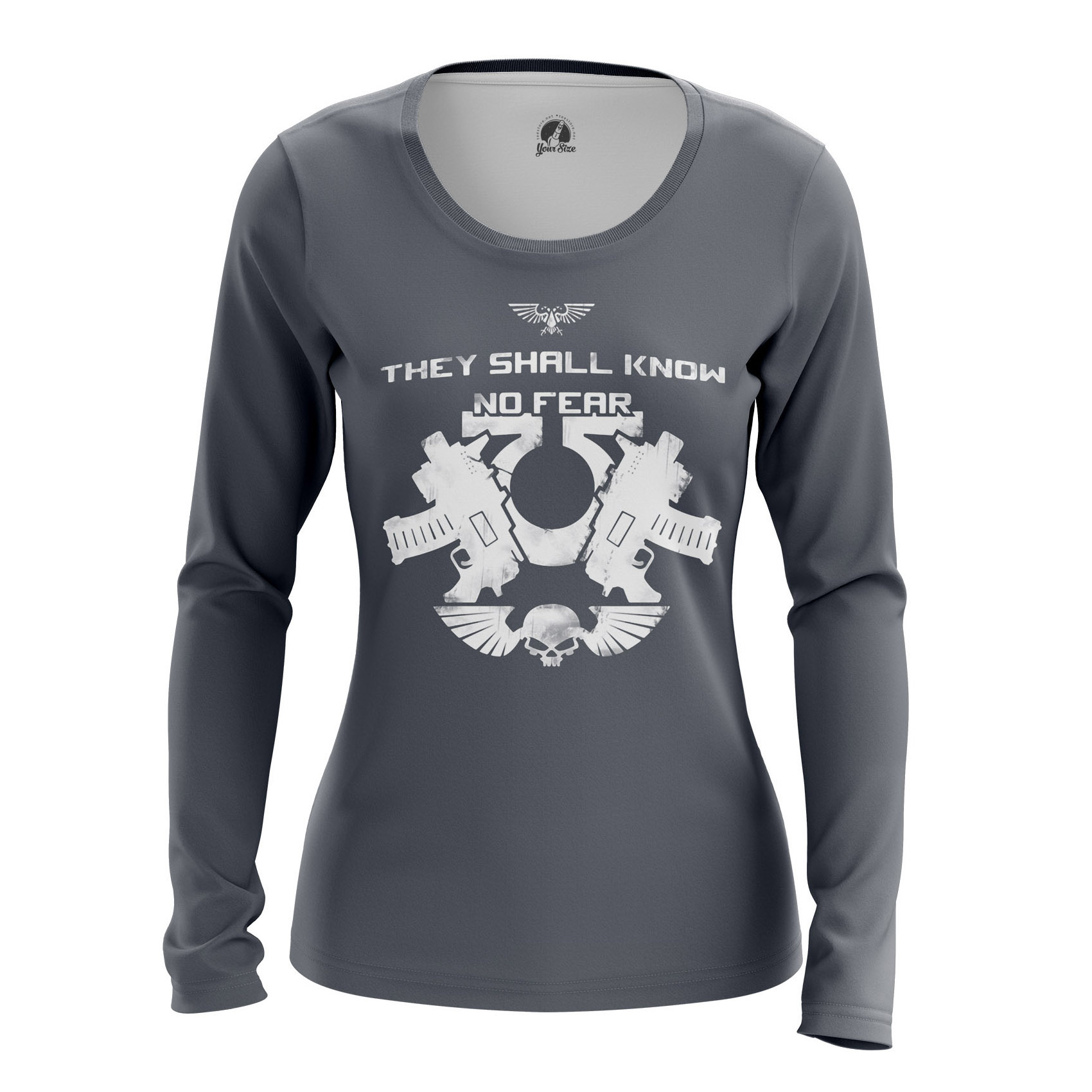Merchandise Women'S Long Sleeve No Fear Warhammer God