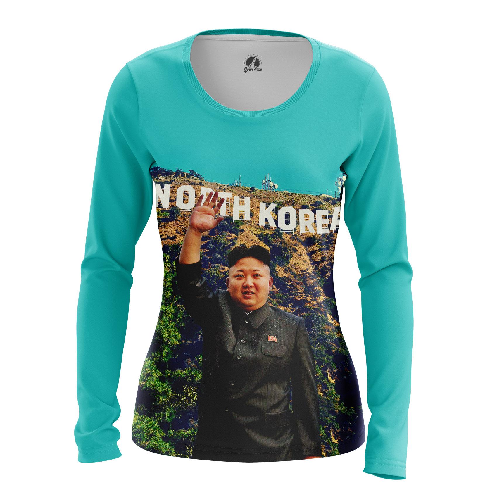 Merchandise Women'S Long Sleeve North Korea Kim Jong Un