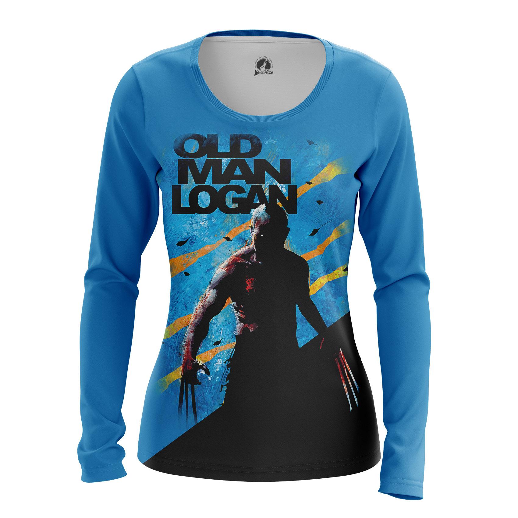 Merch Women'S Long Sleeve Old Man Logan Xmen