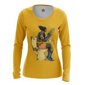 Merchandise Women'S Long Sleeve Poo Time Wolverine