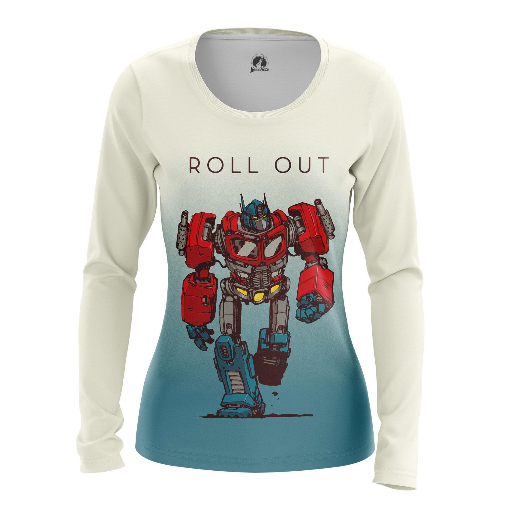Merch Women'S Raglan Roll Out Transformers
