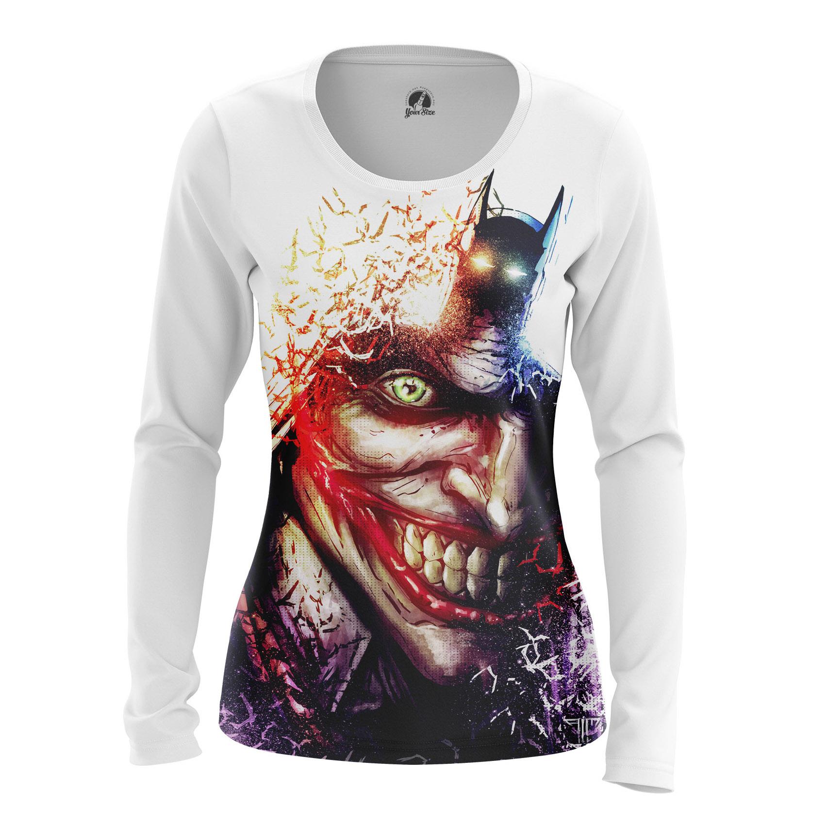 Merch Women'S Raglan Batman Joker